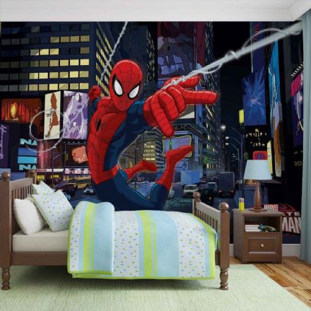 Wallpaper wall mural blue Spider-man
